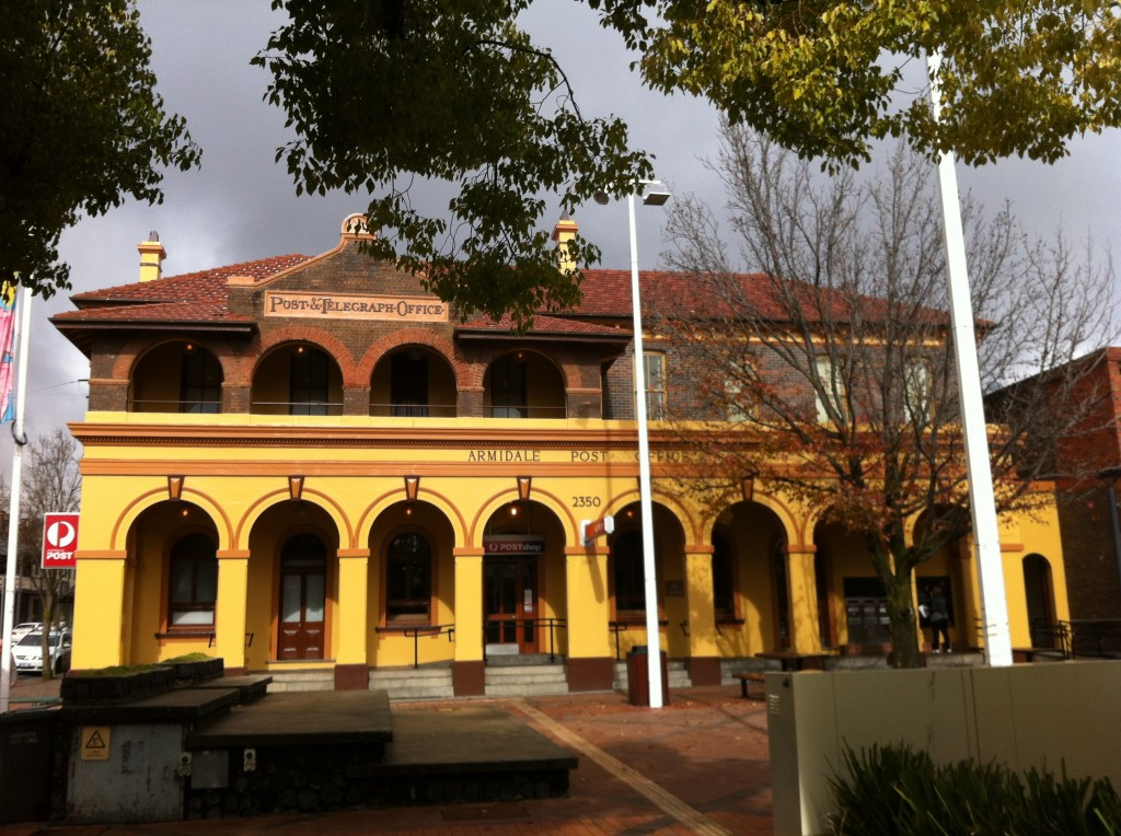 Armidale Post Office July 2012